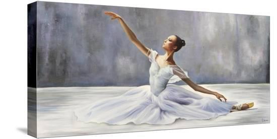 Ballerina-Pierre Benson-Stretched Canvas Print