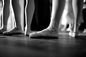 Ballerinas In Ballet Shoes