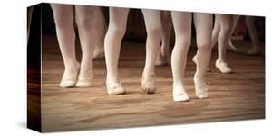 Ballet School Girls on Points