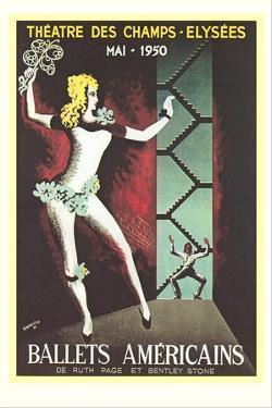 Ballets Américains Poster