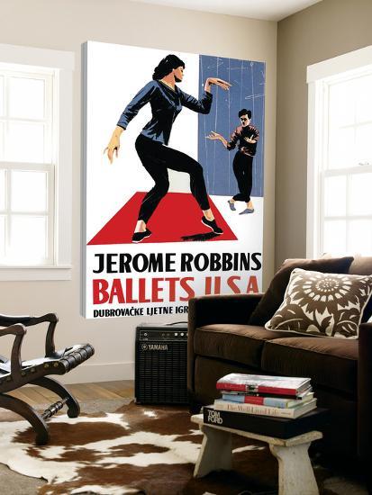 Ballets USA--Loft Art