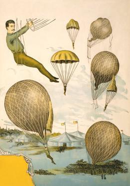 Balloon Rider at Circus