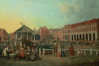 Covent Garden Market and St. Paul's Church, C.1737
