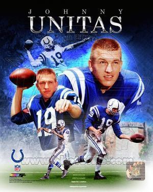 Baltimore Colts - Johnny Unitas Photo