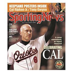 Baltimore Orioles 3B Cal Ripken Jr. - October 15, 2001