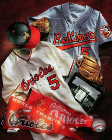 Baltimore Orioles - Baltimore Orioles Cooperstown Collage
