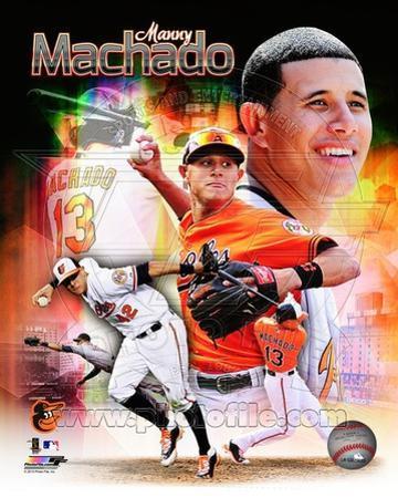 Baltimore Orioles - Manny Machado Photo