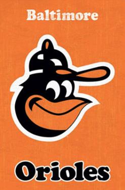 Baltimore Orioles Retro Logo