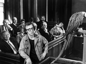 BANANAS, 1971 directed by Woody Allen Woody Allen (b/w photo)