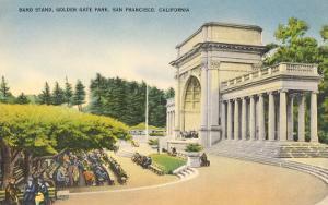 Bandstand, Golden Gate Park, San Francisco, California