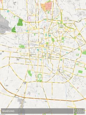 Bandung, Indonesia Map