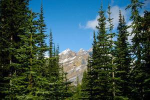 Banff Park Mountain Landscape Photo Print Poster