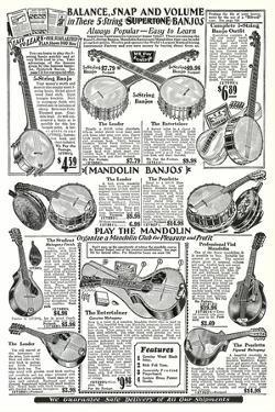 Banjo and Mandolin Catalog