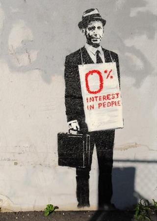 0% Interest by Banksy