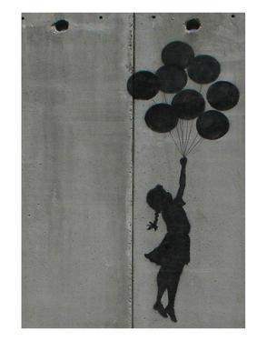 Balloon girl by Banksy