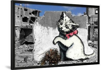 Banksy- Kitten In War by Banksy
