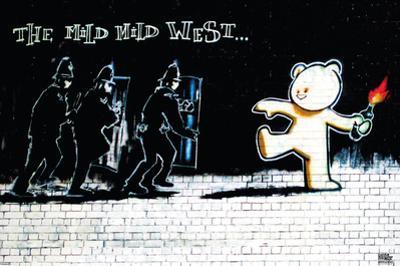 Banksy- Mild Mild West by Banksy