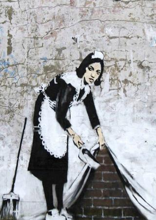 Chamber Maid by Banksy