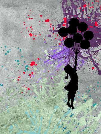 Flying Balloon Girl