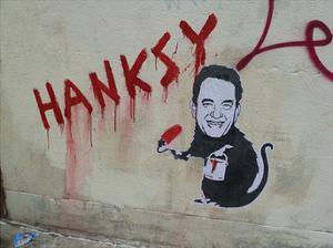 Hanksy by Banksy