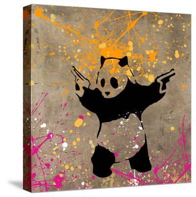 Panda with Guns by Banksy