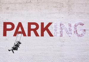 Parking by Banksy