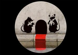 Red Carpet Rats by Banksy