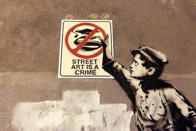 Street Art is a Crime