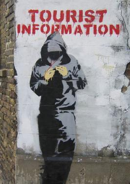 Tourist Information by Banksy