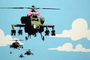 Vapor Helicopter UAV by Banksy