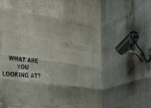 What Are You Looking At by Banksy