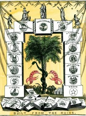Banner of the Secession Convention in Charleston, South Carolina, c.1860