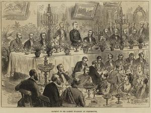 Banquet to Sir Garnet Wolseley at Portsmouth