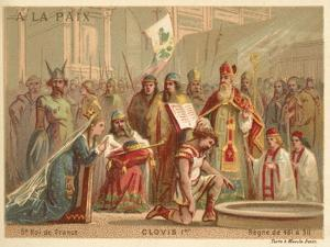 Baptism of Clovis I, King of the Franks, 496