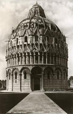 Baptistry, Pisa, Italy