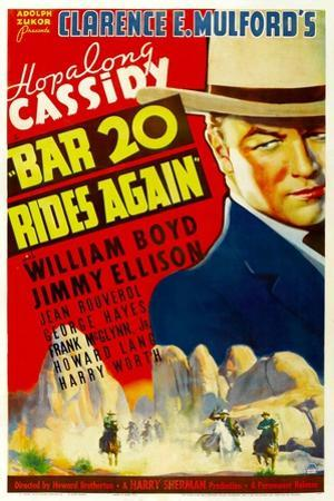 Bar 20 Again, William Boyd, 1935
