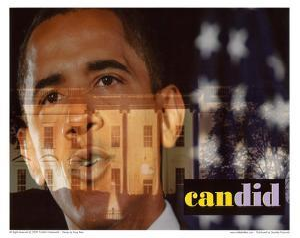 Barack Obama Candid Art Print Poster