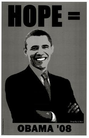Barack Obama (Hope '08) Art Poster Print