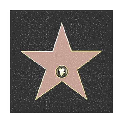 Walk Of Fame Type Star by barbaliss
