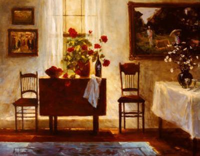 Awaiting a Guest by Barbara Applegate