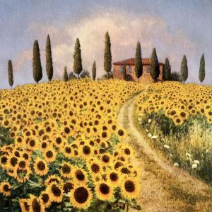 Sunflowers I by Barbara Carter