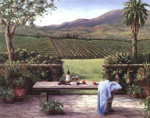 Overlooking the Vineyard by Barbara Felisky