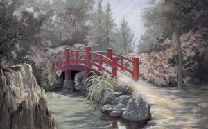 Crimson Bridge by Barbara Hails