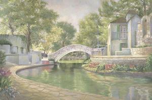 Summer Bridge by Barbara Hails