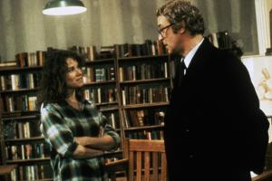 Barbara Hershey and Michael Caine HANNAH AND HER SISTERS, 1986 directed by Woody Allen (photo)