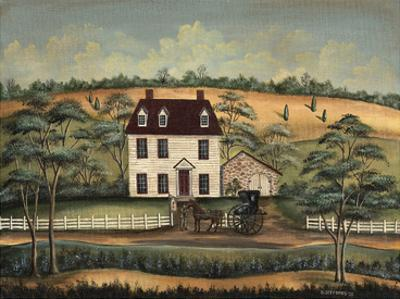 Arriving at the Inn by Barbara Jeffords