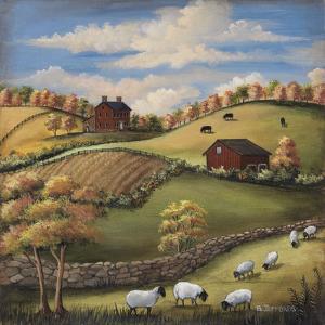 Autumn Walk by Barbara Jeffords