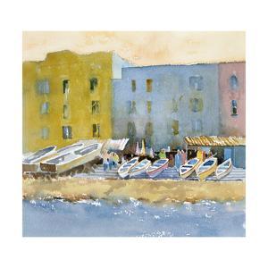 Capri Harbor I by Barbara Maiser