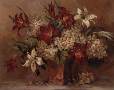 Autumn Lilies by Barbara Mock