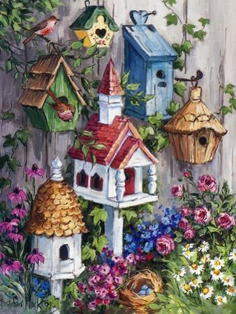 Birdhouse Cottage by Barbara Mock
